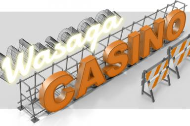 Works on Wasaga Casino Halted